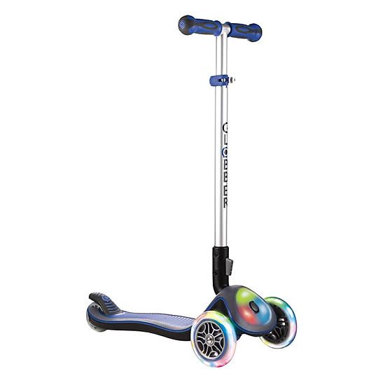 Xe Trượt Scooter Globber Elite Fl - Xanh Da Trời