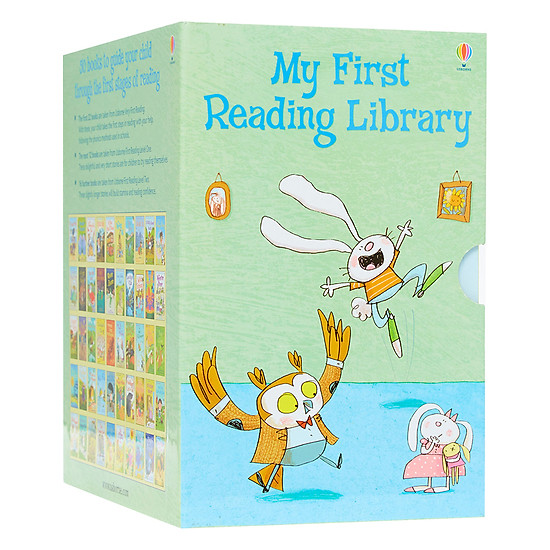 Usborne My First Reading Library - Bộ Xanh 50 cuốn