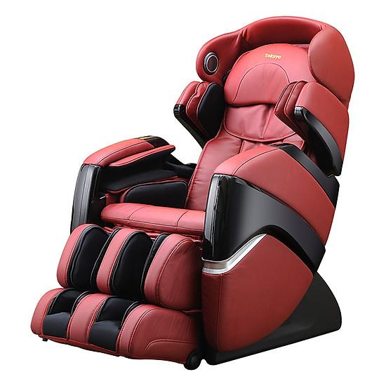 Ghế Massage Tokuyo TC-711 - Đỏ Đen