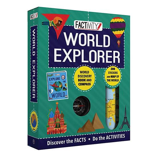 [Download Sách] Factivity - World Explorer