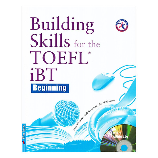[Download sách] Building Skills For The TOEFL IBT (Kèm 8 CD)