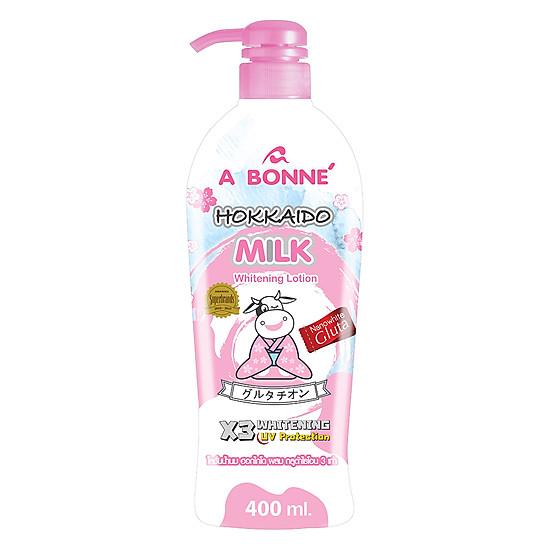 Đánh giá Sữa Dưỡng Trắng Da A Bonne' Hokkaido Milk (400ml) Tại Beauty Republic