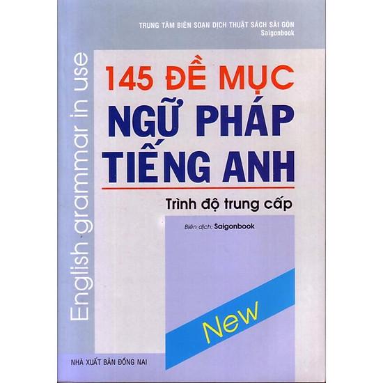 145 đề mục ngữ pháp tiếng anh