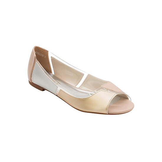 Giày Búp Bê Mix 4 Màu Sulily B01-IV17 - Vàng Bạc