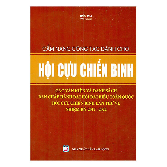 Cẩm Nang Công Tác Dành Cho Hội Cựu Chiến Binh