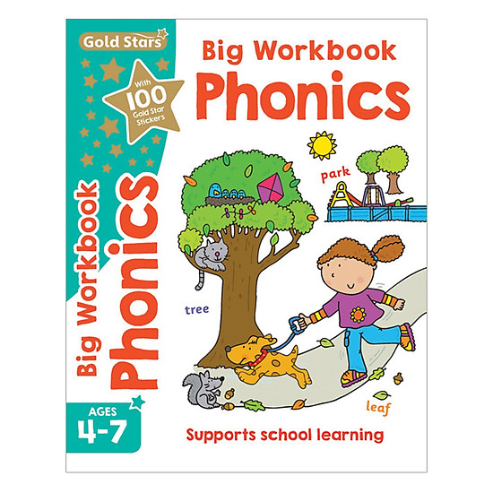 Gold Stars - Phonics Big Workbook Ages 4-7