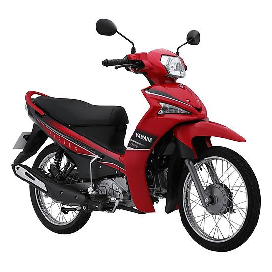 Xe Yamaha Sirius Fi Phanh Đĩa - Đỏ