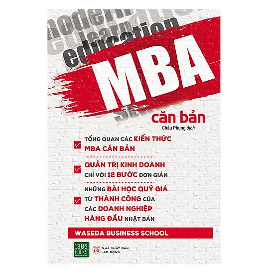 [Download sách] MBA Căn Bản