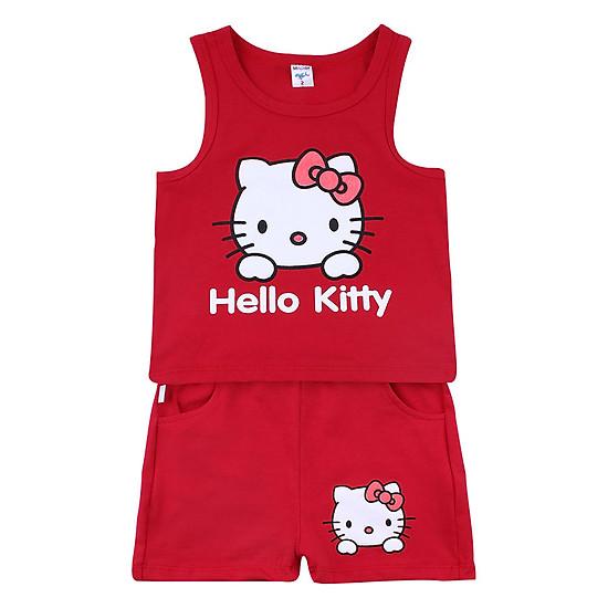 Bộ Hello Kitty Bé Gái BONCHOP BBG-8092519Đ - Đỏ