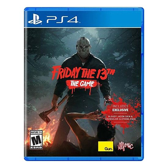 Đĩa Game PlayStation PS4 Sony Friday The 13th The Game Hệ US