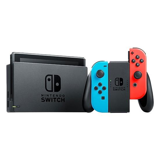 Máy Chơi Game Nintendo Switch Với Neon Blue Và Red Joy‑Con (Xanh Đỏ) U...