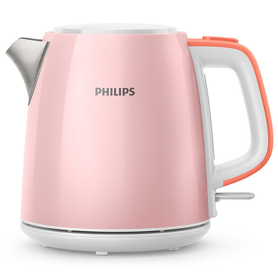 Ấm Điện Philips HD9348 1L - Hồng - Thép Không Gỉ
