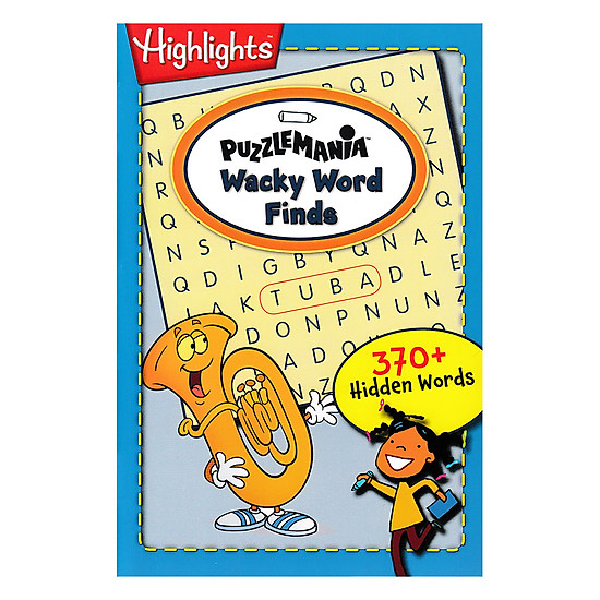 On The Go: Puzzlemania: Wacky Word Finds