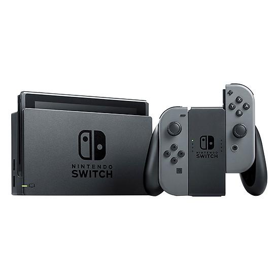 Máy Chơi Game Nintendo Switch Với Gray Joy-con (Xám) US Version - Hàng...
