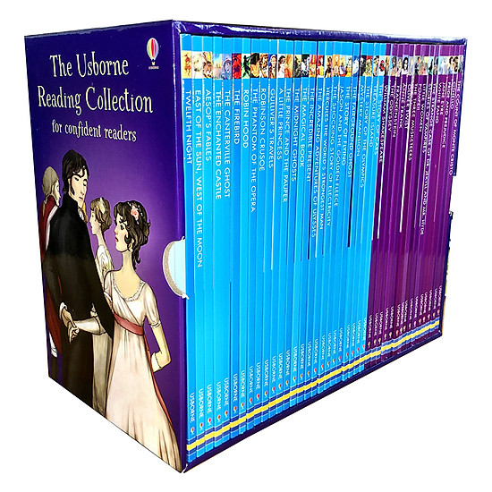 Usborne Reading Collection For Confident Readers - Bộ Tím 40 cuốn