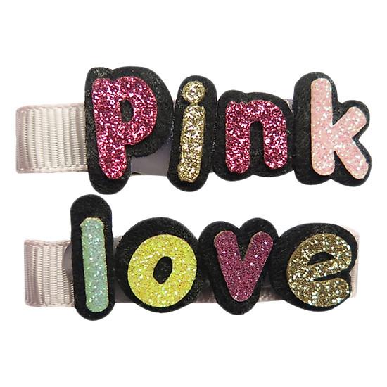 Set Kẹp Chữ Pink Love CucKeo Kids TK011807