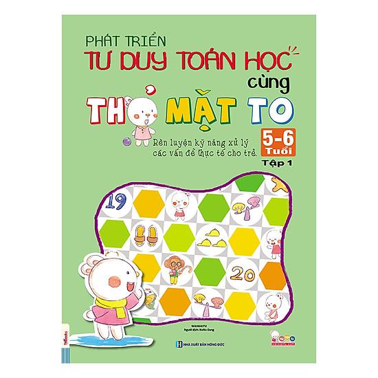 [Download Sách] Phát Triển Tư Duy Toán Học Cùng Thỏ Mặt To 5-6 Tuổi (Tập 1)