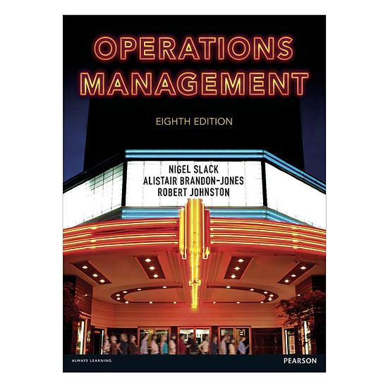 Operations Management Plus MyOMLab 8ed