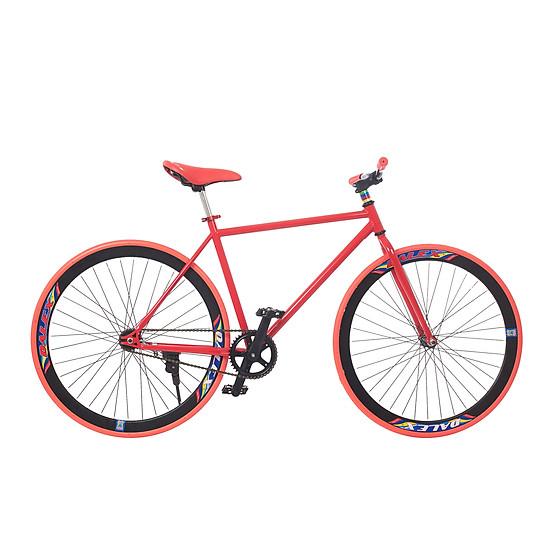 Xe Đạp Fixed Gear Single Sportslink - Đỏ Phối Đen