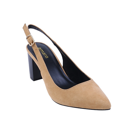 Giày Sandals Bít Mũi The AMARA - Kem