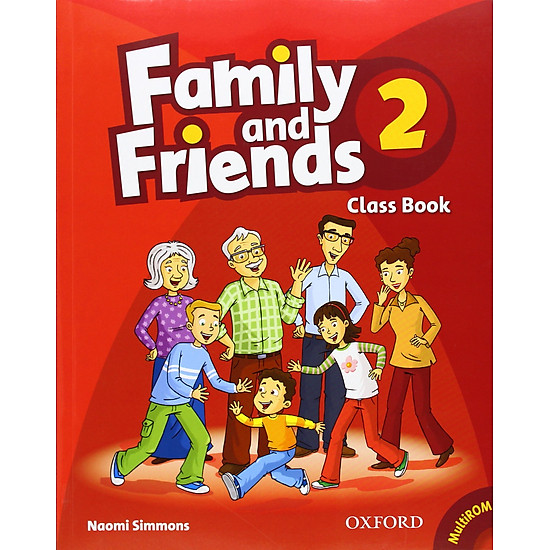 Family And Friends (Bre) (1 Ed.) 2: Class Book And Multirom Pack