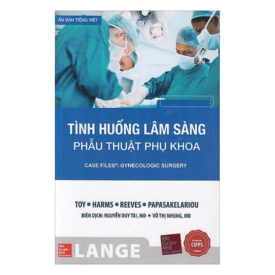 [Download Sách] Tình Huống Lâm Sàng Phẫu Thuật Phụ Khoa