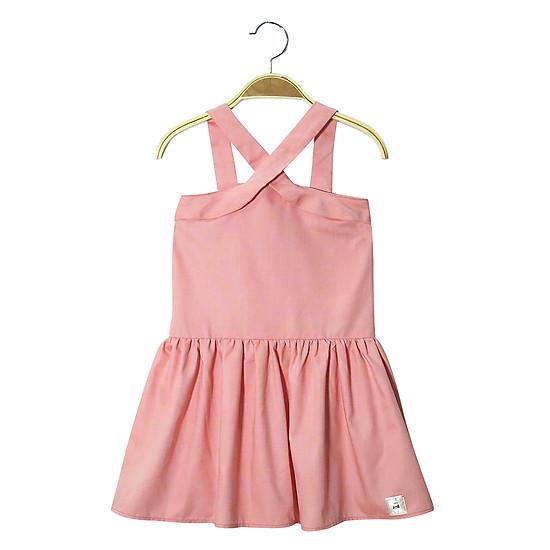 Váy hồng dây chéo Lovekids