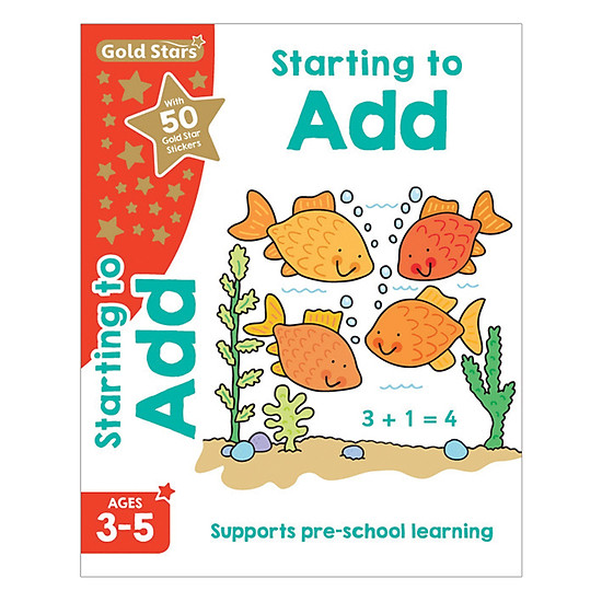 Gold Stars - Starting To Add Ages 3-5