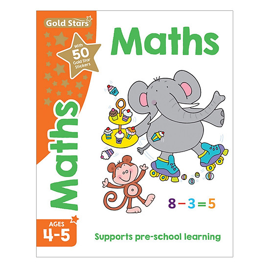 Gold Stars - Maths Ages 4-5