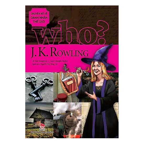 [Download Sách] Chuyện Kể Danh Nhân Thế Giới - J.K.Rowling