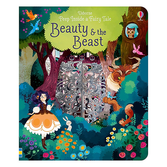 Usborne Peep Inside A Fairytale: Beauty And The Beast