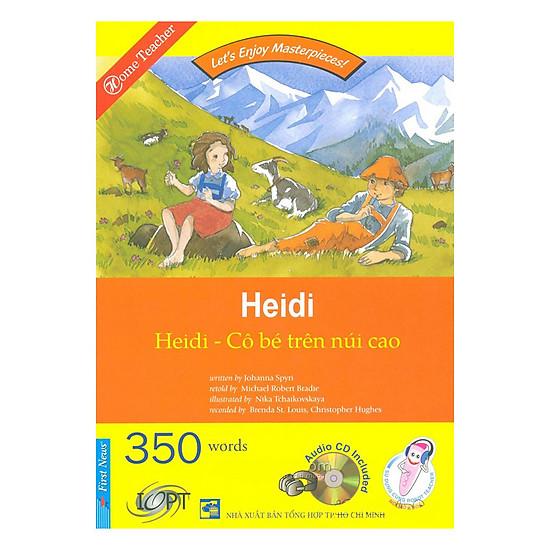 [Download Sách] Happy Reader - Heidi Cô Bé Trên Núi Cao (Kèm 01 CD)