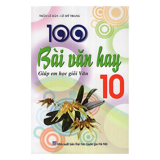 [Download Sách] 100 Bài Văn Hay Lớp 10