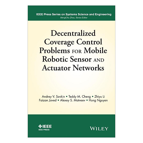 Download sách Decentralized Coverage Control Problems For Mobile Robotic Sensor And Actuator Networks