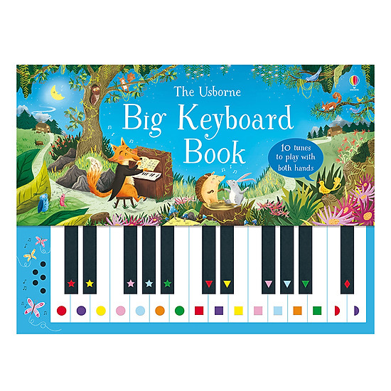 [Download sách] Usborne Big Keyboard Book