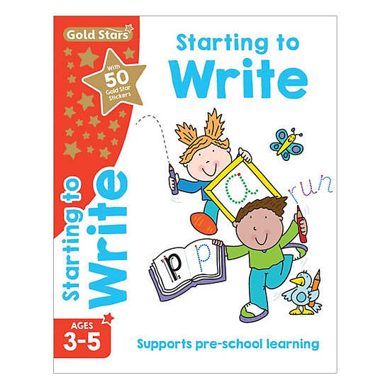 Gold Stars - Starting To Write Ages 3-5
