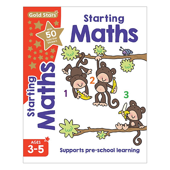 Gold Stars - Starting Maths Ages 3-5