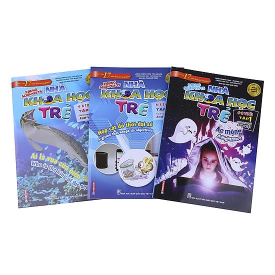 Combo Sách Song Ngữ Nhà Khoa Học Trẻ (6-8 Tuổi)