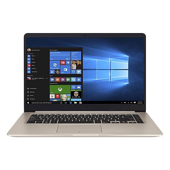 Laptop Asus Vivobook A411UA-BV446T Core i3-7100U/Win10 (14.1 inch) - Gold - Hàng Chính Hãng