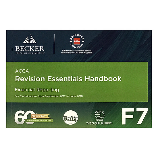 Revision Essentials Handbook - F7 Financial Reporting