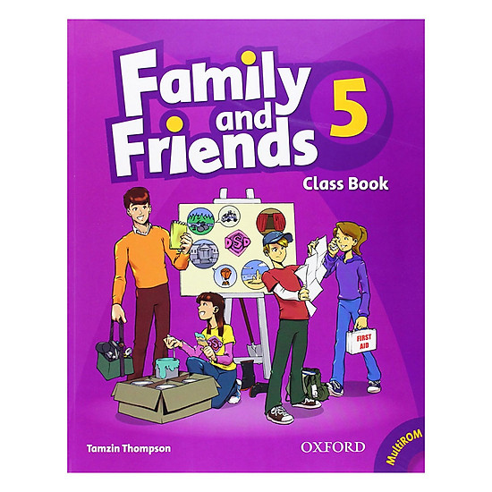 Family And Friends (Bre) (1 Ed.) 5: Class Book And Multirom Pack