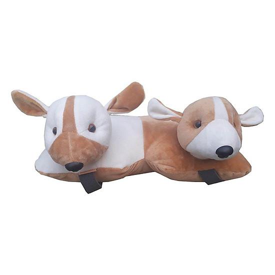 Gối Kê Xe Chó Hai Đầu (33 x 38 cm)