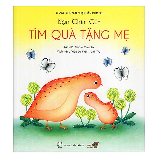 Download sách Truyện Tranh Ehon - Bạn Chim Cút Tìm Quà Tặng Mẹ