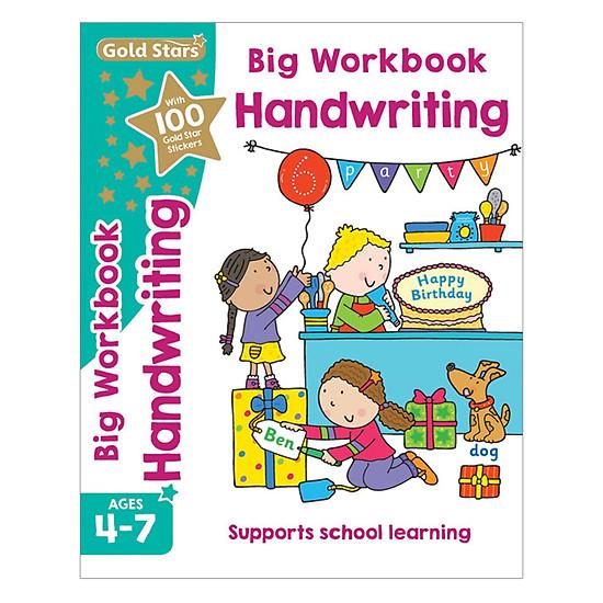 Gold Stars - Big Workbook Handwriting Ages 4-7