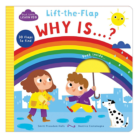 Start Little Learn Big - Lift - The - Flap Why Is...?