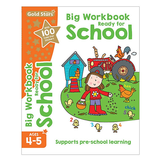 Gold Stars - Ready For School Big Workbook Ages 4-5
