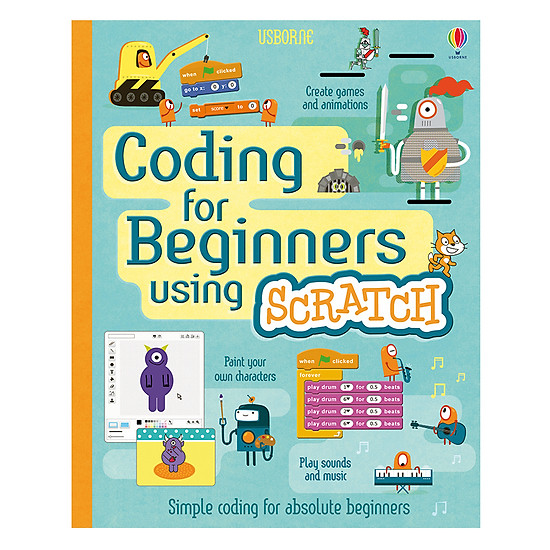 [Download Sách] Usborne Coding For Beginners Using Scratch