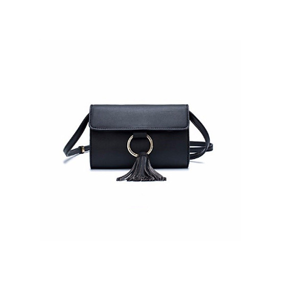 Túi Đeo Chéo Nữ Thời Trang Cao Cấp Da PU DooDoo D515121 – Trắng