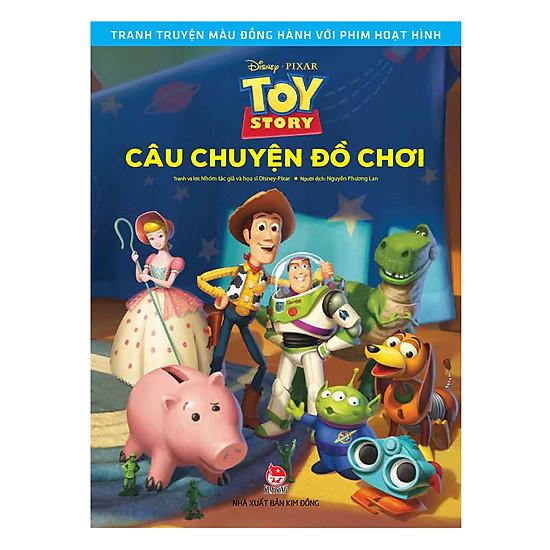 Tranh Truyện Màu Đồng Hành Cùng Phim Hoạt Hình: Toy Story - Câu Chuyện Đồ Chơi