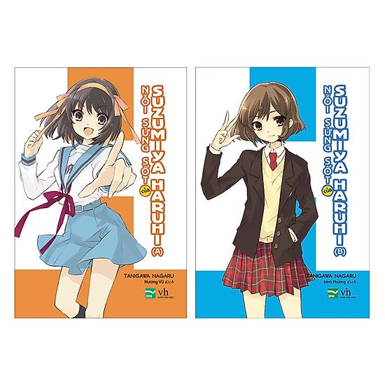 [Download sách] Nỗi Sửng Sốt Của Suzumiya Haruhi (Tập 10A + 10B)